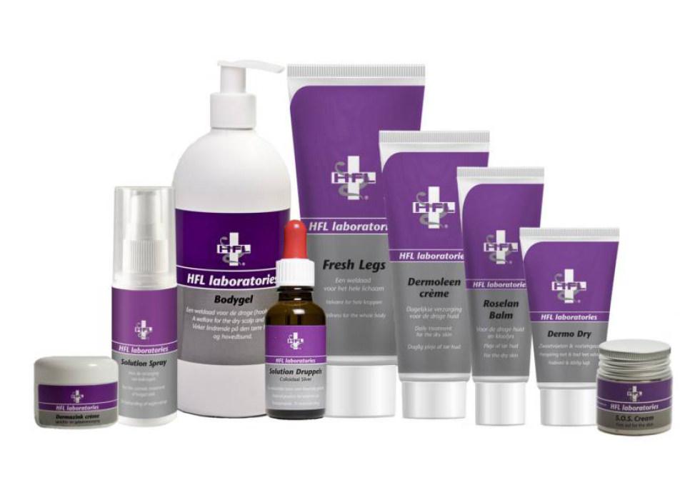 Pedique praktijk voor Voetzorg HFL Laboratories producten verkoop